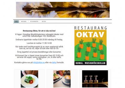 Restaurang Oktav