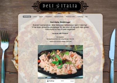 Deli-italia snättringe